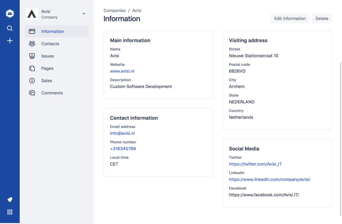 Access your customer information from Jira and Confluence