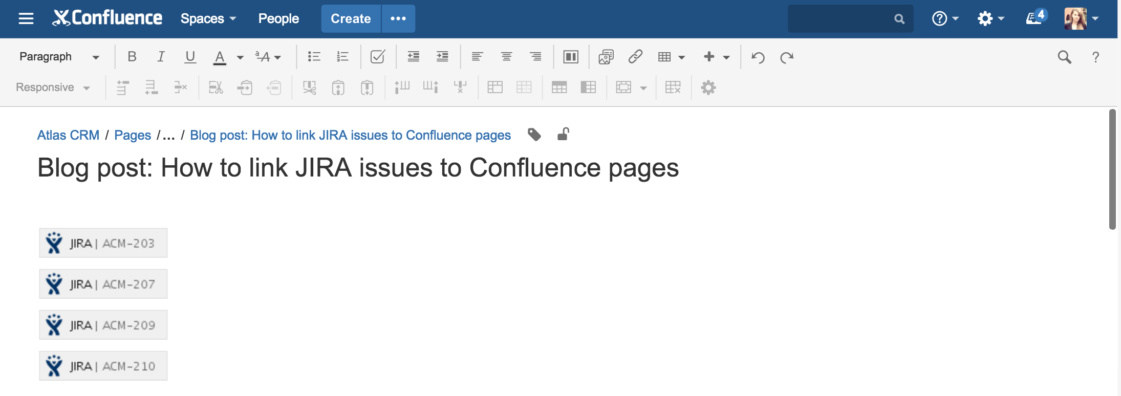 How To Link Jira Issues To Confluence Pages