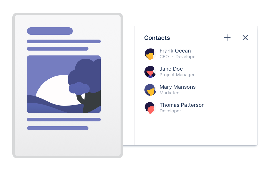 CRM system built for Jira and Confluence - Atlas CRM